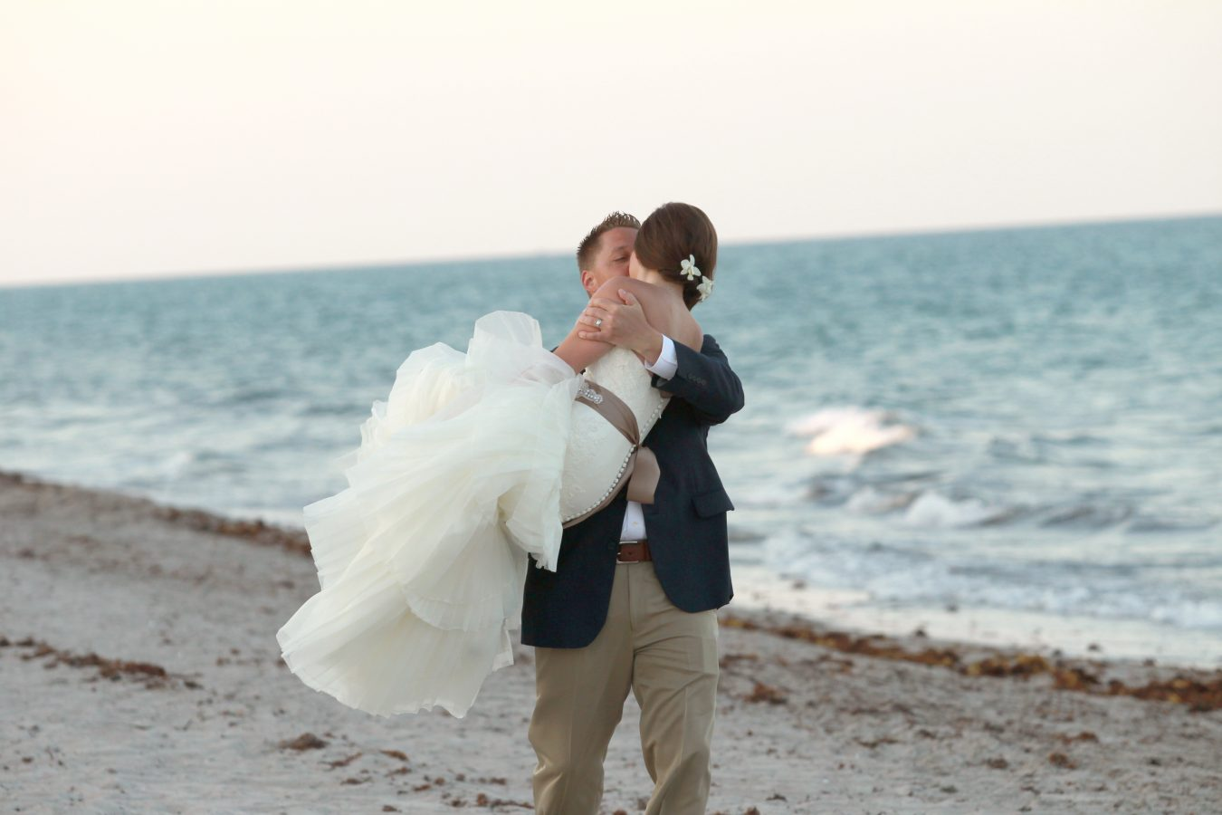 Beach Wedding in Highland Beach